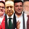 Cumhurbaşkanı adaylarının sıralaması belli oldu