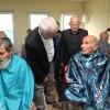 Arnavutköy'deki Yaşlılara Tıraş Hizmeti Verildi