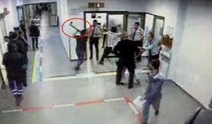 Arnavutköy Devlet Hastanesi'ne Baltalı Saldırı