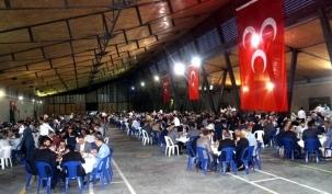 MHP Arnavutköy'den 2 Bin Kişilik İftar Programı
