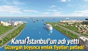 Kanal İstanbul'un Adı Yetti!
