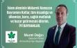 Murat Dağcı'nın Ramazan Bayramı Mesajı Haberi