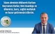 Arnavutköy Yeşil Ordulular Derneği Başkanı Adem Dinçer'in Kurban Bayramı Mesajı Haberi