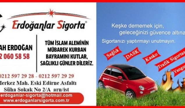 Erdoğanlar Sigorta'nın  Kurban Bayramı Mesajı