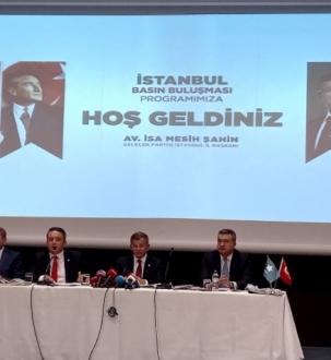 Davutoğlu; Cahil bir ekonomi yönetimi yüzünden Türkiye uçuruma gidiyor