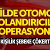 Arnavutköy'de Otomobil Dolandırıcılığı Operasyonu