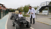 Öğrenciler Trafik Kurallarını Eğlenerek Öğreniyor