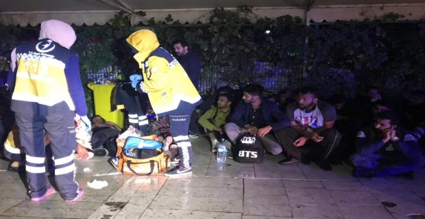 Arnavutköy'de Can Pazarı   Yaşandı