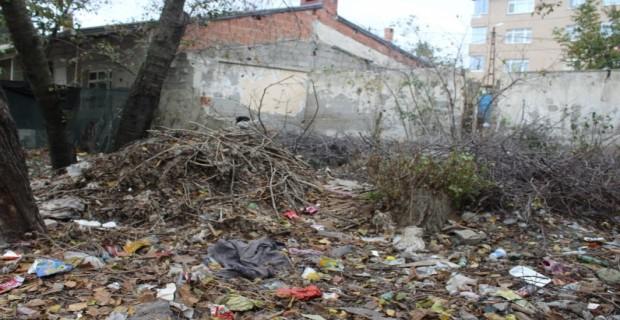 Karlıbayır'da Tanyeli Sokağı Çöp İçinde