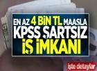 KPSS şartı yok! 4 bin TL maaşla belediyeler işçi alıyor!