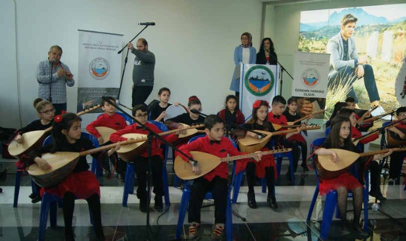 Halk Eğitim Merkezi'nin Yılsonu Etkinliği Renkli Geçti