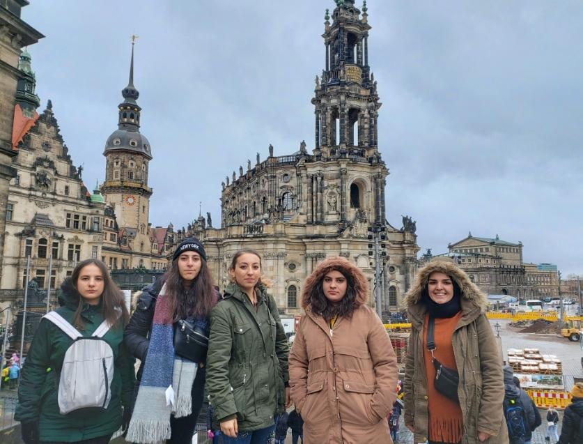 Şehit Demet Sezen Çok Programlı Anadolu Lisesi Öğrencileri Avrupa'ya Gitti