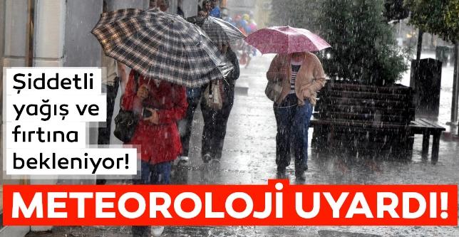 Şiddetli yağış bugün de devam ediyor!