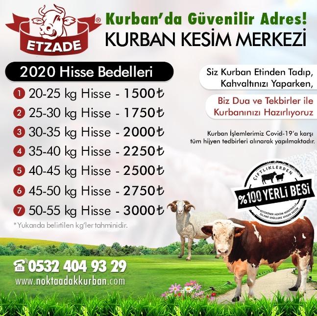 Kurban'da Güvenilir Adres!