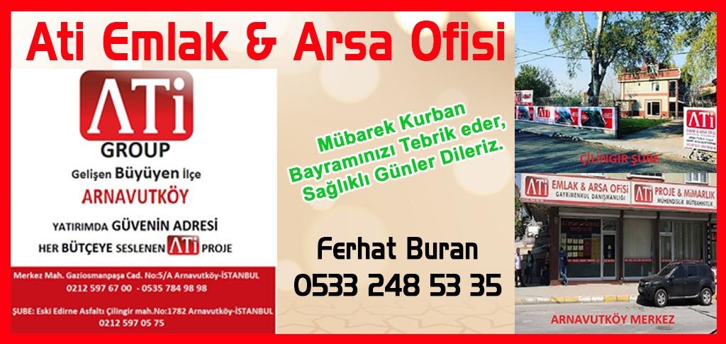 Ati Emlak & Arsa Ofisi'nin Kurban Bayramı Mesajı